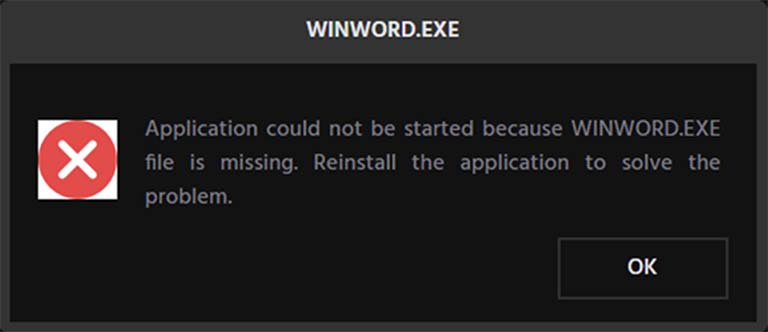 Perbaiki Masalah WINWORD.EXE Error Di Aplikasi Office Pada Windows 10