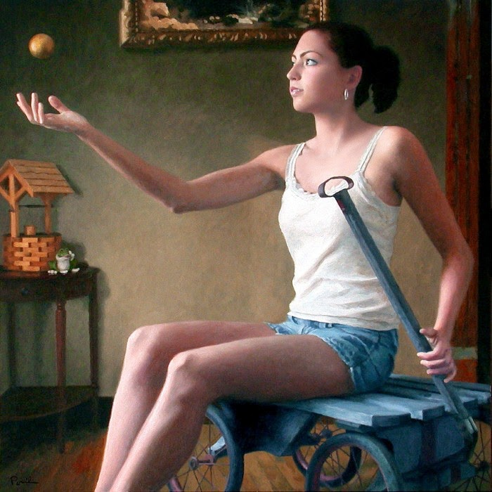 Американский художник. Charles Pompilius