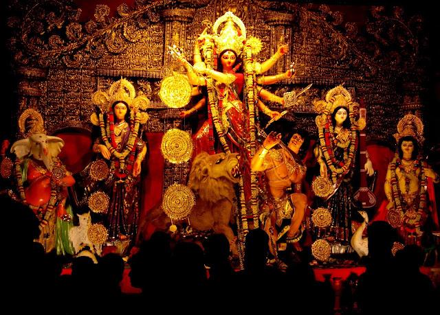Navratri 9 Devi Images, Durga Maa Wallpaper