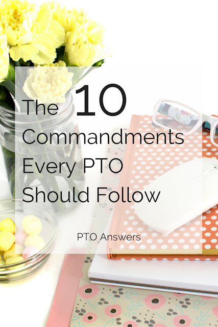 There are many things a PTO or PTA could do, but if you want to drill down to the 10 essential rules that every PTO should follow, click through to read!