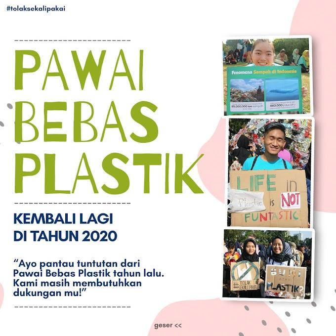 Pawai Bebas Plastik 2020 : Seruan Kembali Pengurangan Plastik Sekali Pakai di tengah pandemi
