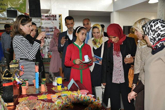 مشاركة متميزة للمديرية الإقليمية لوزارة التربية الوطنية والتكوين المهني في المنتدى الجهوي للأندية البيئية