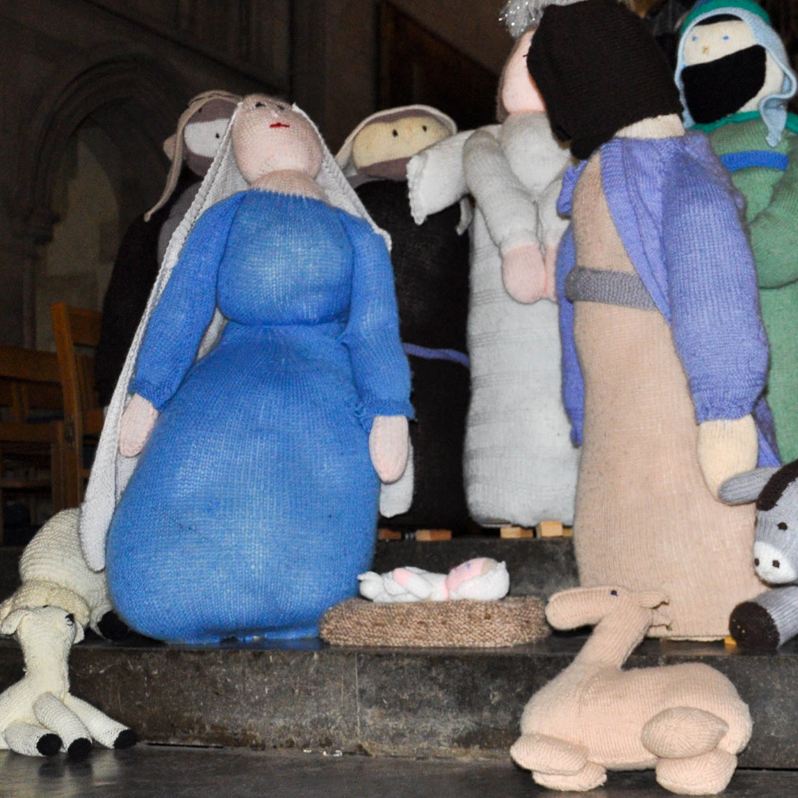The Knitivity, St. Albans Cathedral, St. Albans, England