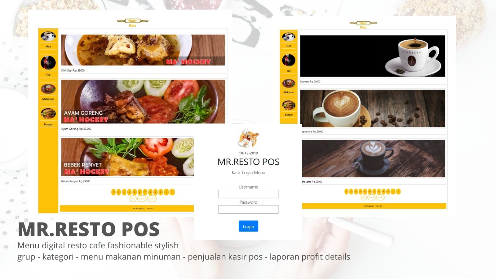 program restoran aplikasi restoran mudah