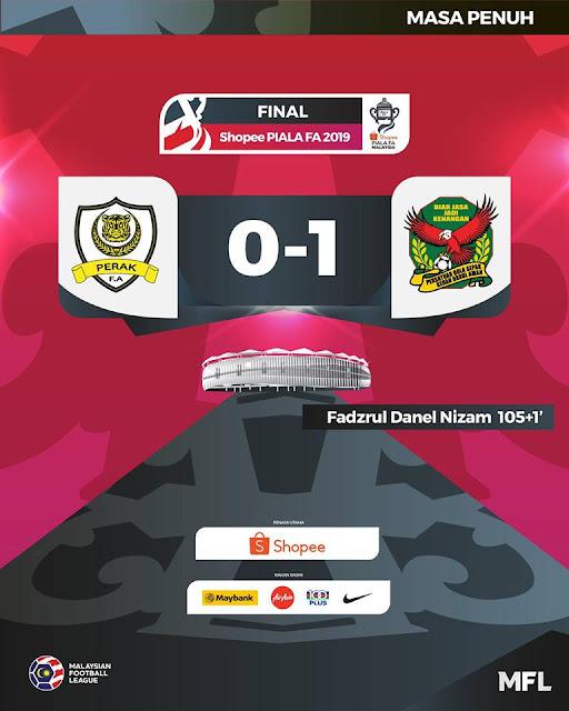 Kedah Juara Piala Fa 2019 Kali ke 5 dalam Sejarah
