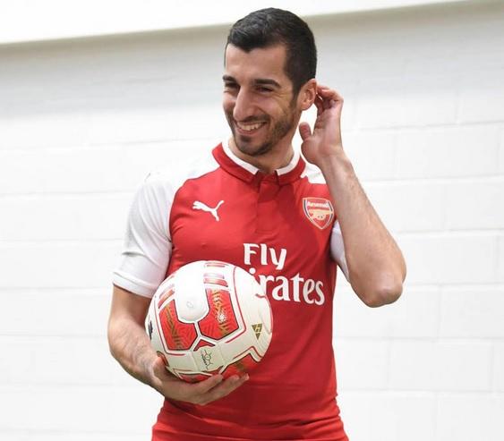 EPL: Arsenal Set To Loan Mkhitaryan On Loan To AS Roma