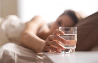 minum air putih sebelum tidur