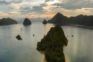Objek Wisata Pantai Muaro Binguang Pasaman Barat Sumatera Barat (Sumbar)
