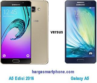 Harga dan Perbedaan Galaxy A5 (2016) dengan A5 (Yang Lama)