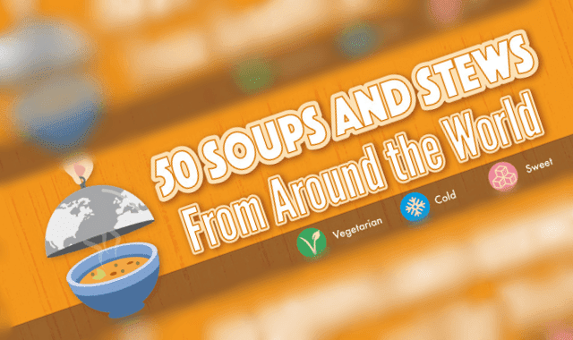 50 Soups and Stews From Around the World