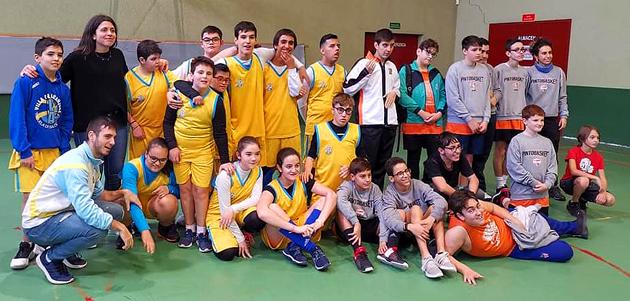 Baloncesto Discapacidad Aranjuez