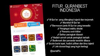 Gambar tentang fitur QuranBest Indonesia