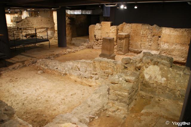 Sotterranei e domus romana del Museo di Storia di Barcellona