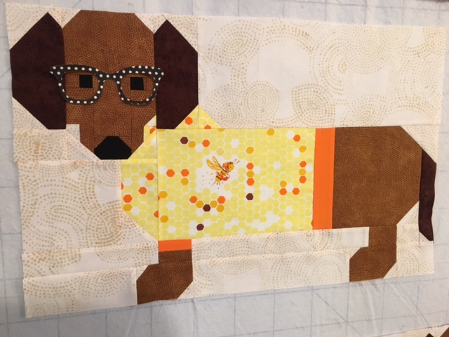 Cozy Little Quilts Dogs In Sweater Quilt All Sewn