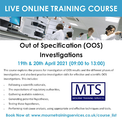 OOS Investigations Course from MTS