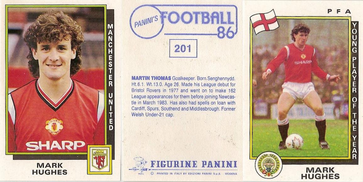 PANINI Football 87 Sticker No.412 WIMBLEDON KIT