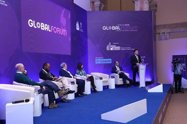 Foro Mundial contra crimen genocidio armenio