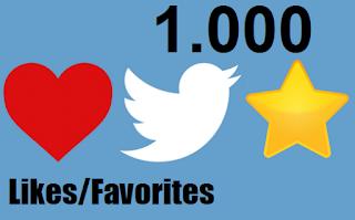 buy 1k twitter likes favorites