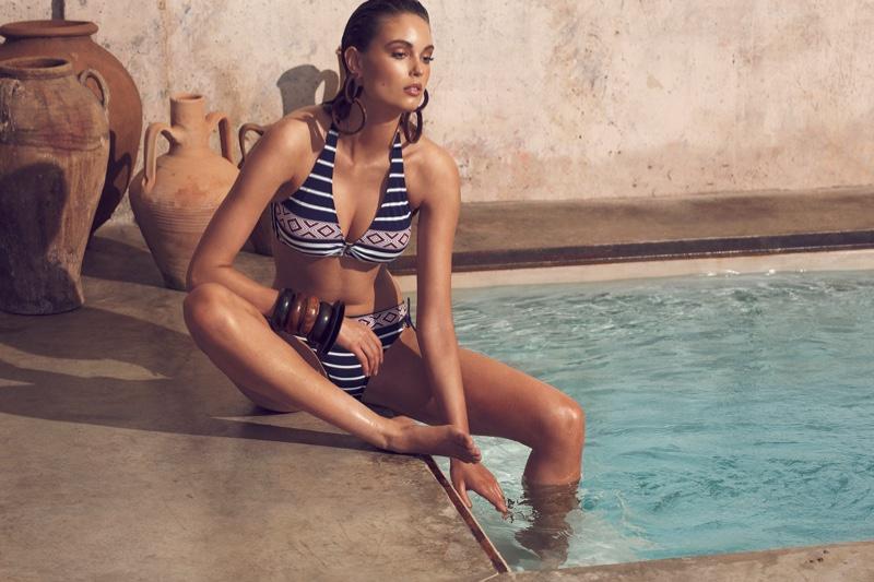 Dolores Cortés Swimwear spring summer 2021 campaign