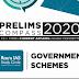 Rau's IAS Government Schemes Prelims Compass 2020 PDF Notes