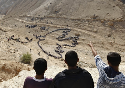 Palestinian students from United Nations, AHMAD GHARABLI/AFP via Getty Images