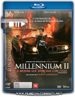 Millennium II: A Menina que Brincava com Fogo Torrent - BluRay Rip 1080p Dual Audio