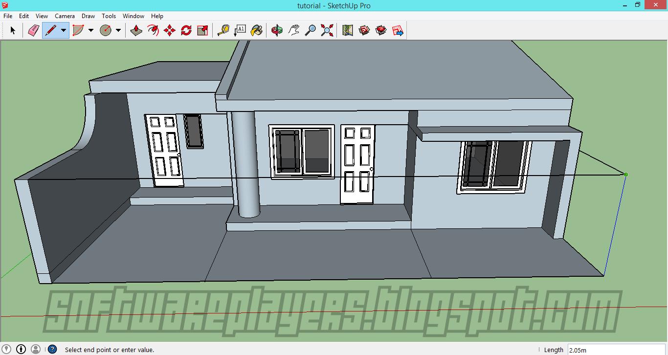 Download Desain Rumah Google Sketchup 8 Denah Rumah