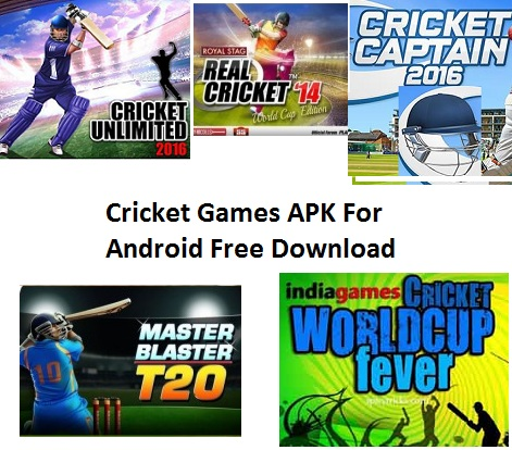 Download Cricket Games APK 2017 For Android PC