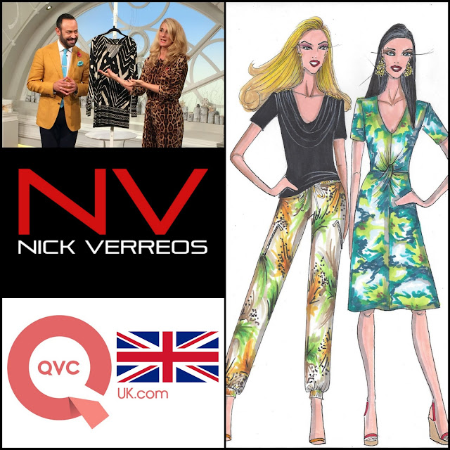 "NV NICK VERREOS.....I'll be in LONDON for QVC UK with my NEW SPRING ""NV Nick Verreos"" line SAVE THE DATE: FRIDAY MARCH 4th 8PM GMT!"
