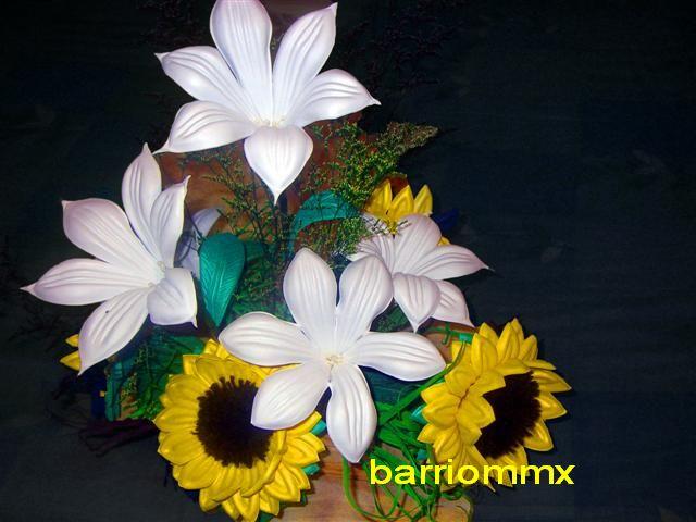 Wwwarreglos Florales De Foami Con Girasoles Imagui