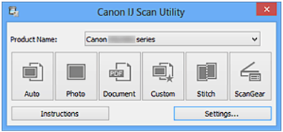 Download Canon IJ Scan Utility