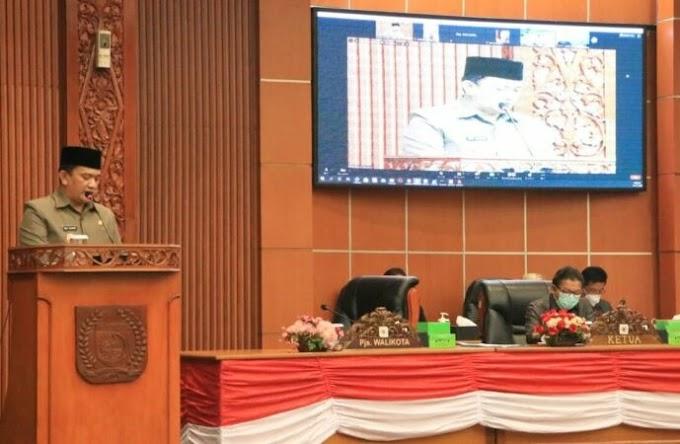 DPRD Kota Depok Gelar Paripurna Persetujuan RAPBD TA 2021