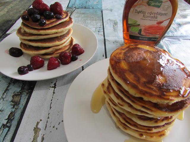 Amerykańskie placki — Pancakes