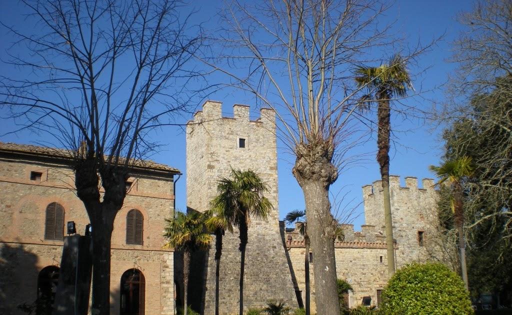 Modanella, Rapolano Terme (SI), un castello fra i tartufi