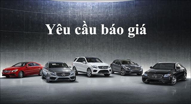 Báo giá xe Mercedes mới nhất