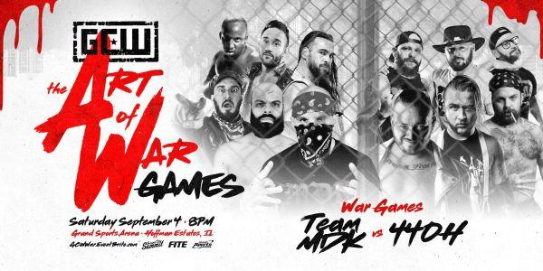 Cobertura: GCW The Art Of War Games 2021 – Open Challenge!