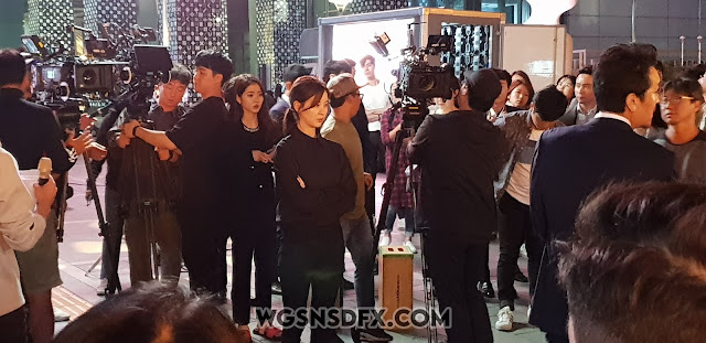 SNSD Seohyun Drama Filming