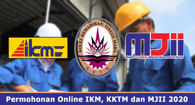 Permohonan Online Ikm Kktm Dan Mjii 2020 Jawatan Kosong Kerajaan Swasta Terkini Malaysia 2020 2021