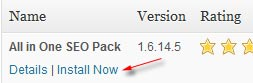 install all in one seo pack
