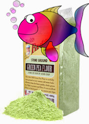 Pea Flour for Fish Food, better than too much starch