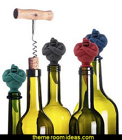 Genie Bottle Stopper Wine Saver. Best Man Cave Bar Tool Accessory