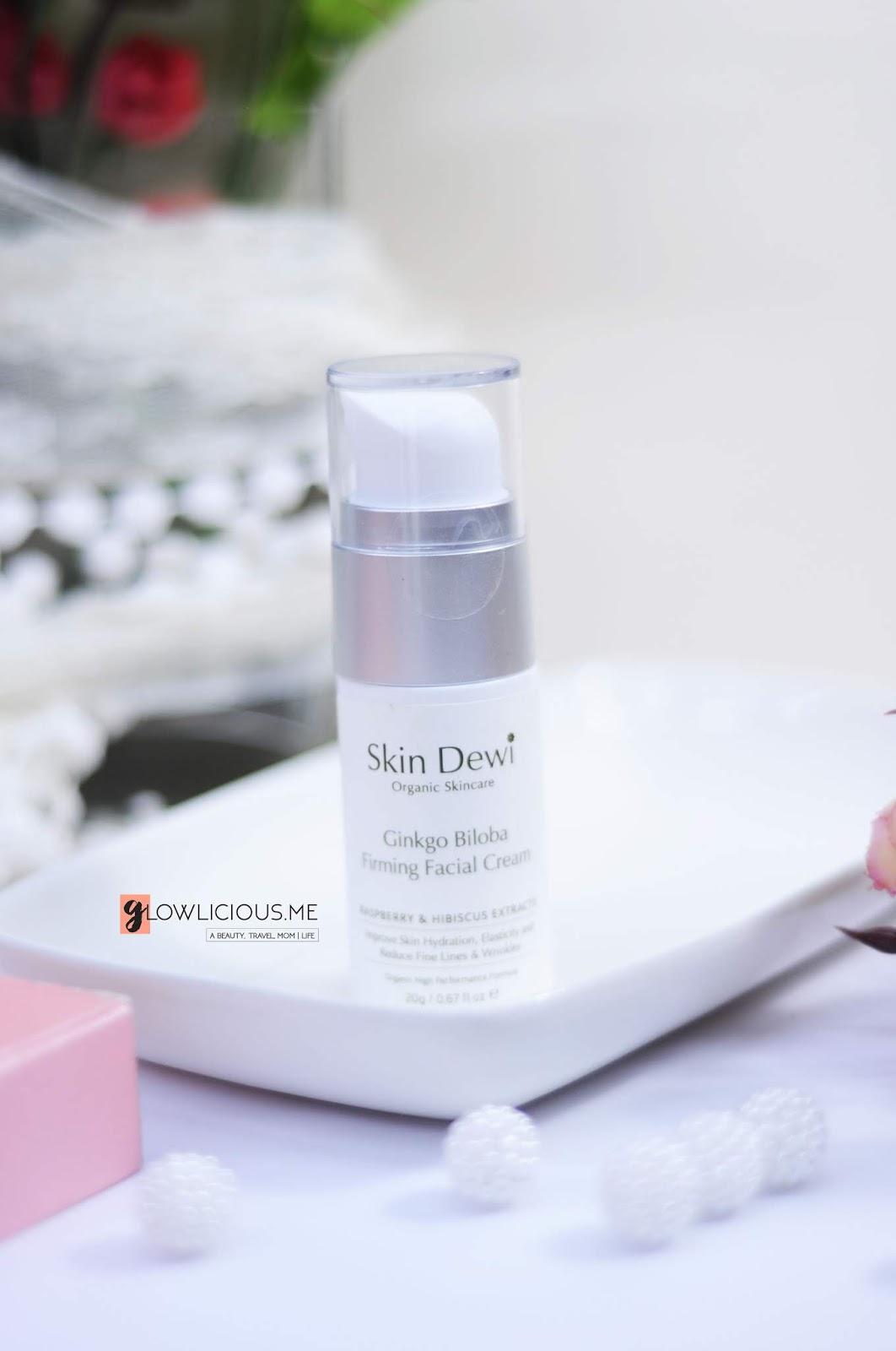 SkinDewi Ginkgo Biloba Firming Facial Cream 20g