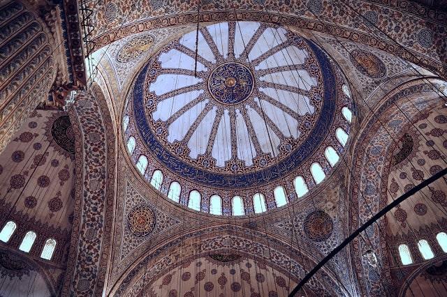 mesquita sultanahmet istambul