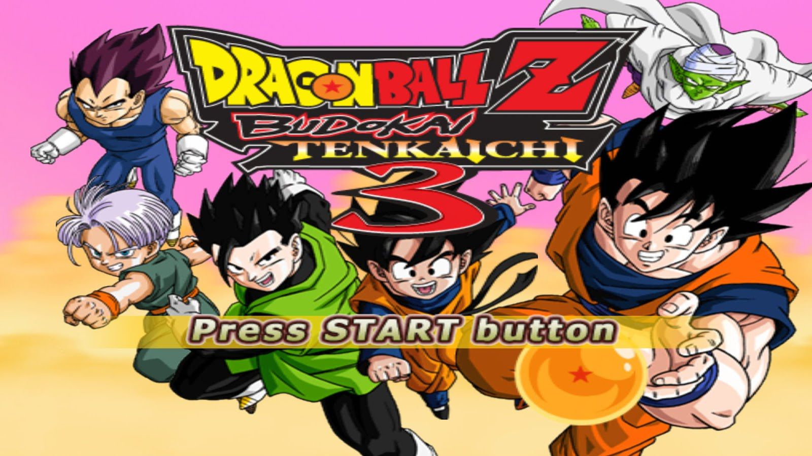 Free download game Dragon Ball Z Budokai Tenkaichi 3