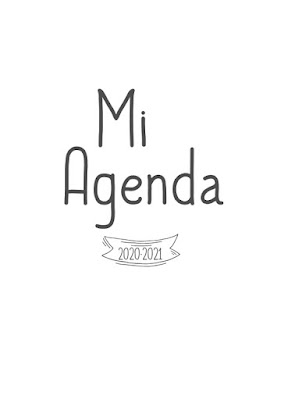 AGENDA, DIARIA, IMPRIMIR, EDITAR, POWERPOINT, PDF, PEGATINAS, IMPRIMIBLE