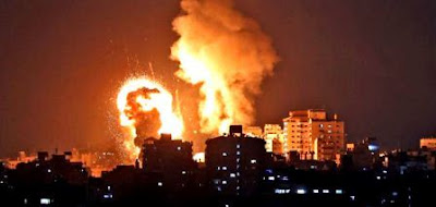 Israel continues to fight Palestine, now Hamas is launching a counterattack by launching rocket showers