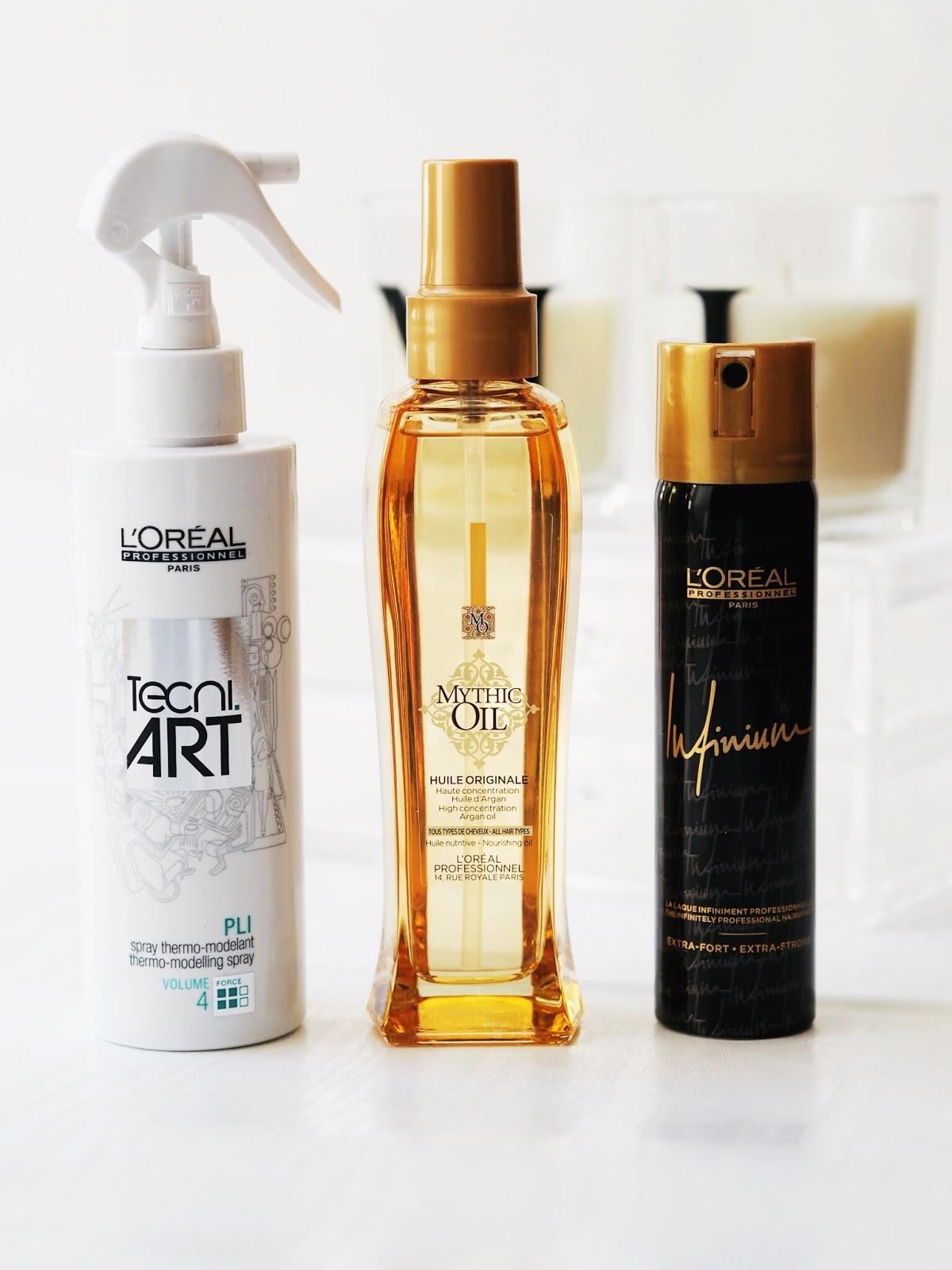 L'Oréal professionnel mythic oil  Tecni Art  infinium review