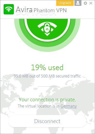 تحميل برنامج vpn مجاني للكمبيوتر Avira Phantom 2019 برابط مباشر