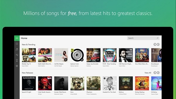 Saavn launches universal app for Windows 10