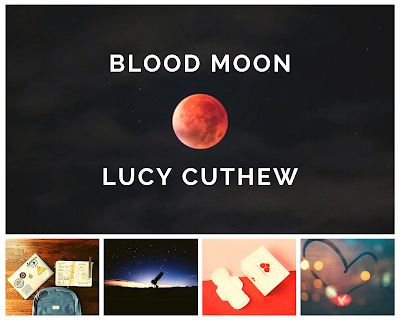 Blood Moon by Lucy Cuthew mood board